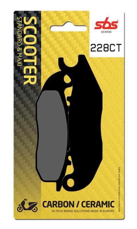 Pastilla de freno SBS P228-CT
