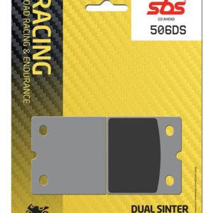 Pastilla de freno SBS P506-DS1
