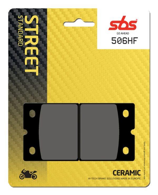 Pastilla de freno SBS P506-HF