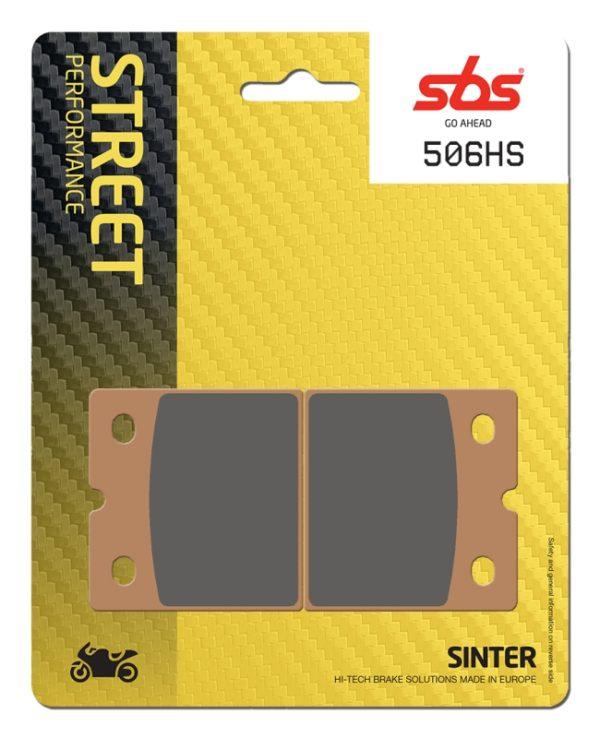 Pastilla de freno SBS P506-HS