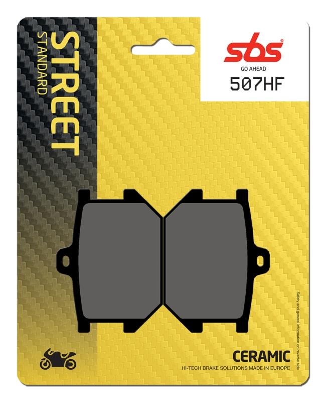 Pastilla de freno SBS P507-HF