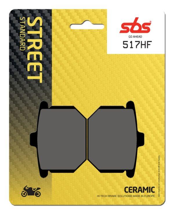 Pastilla de freno SBS P517-HF