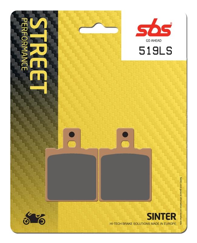 Pastilla de freno SBS P519-LS