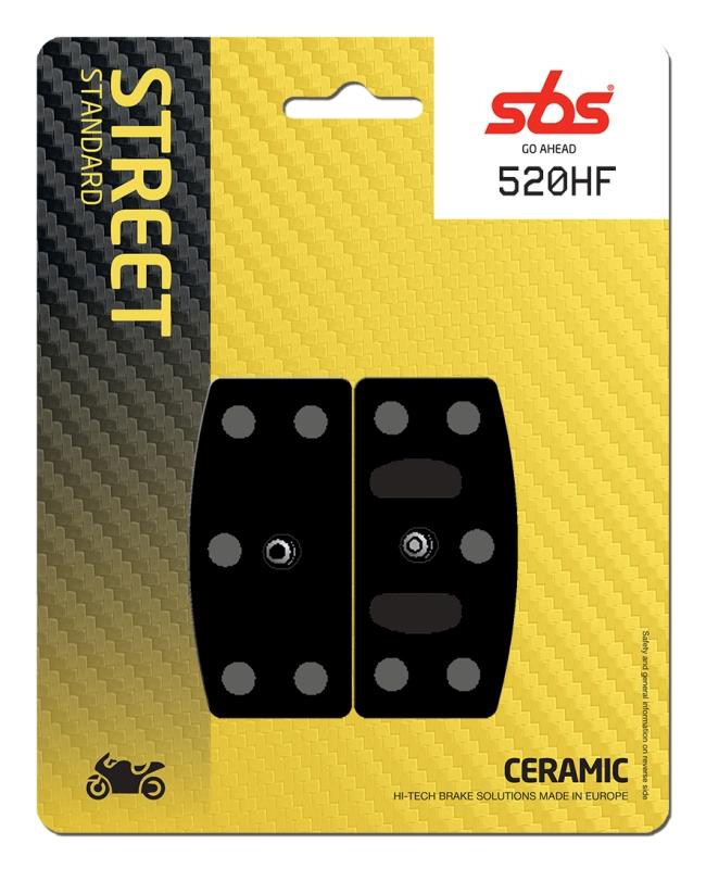 Pastilla de freno SBS P520-HF