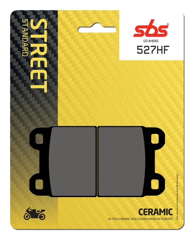 Pastilla de freno SBS P527-HF