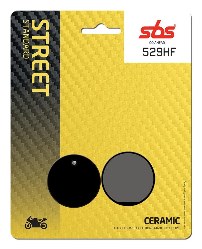 Pastilla de freno SBS P529-HF