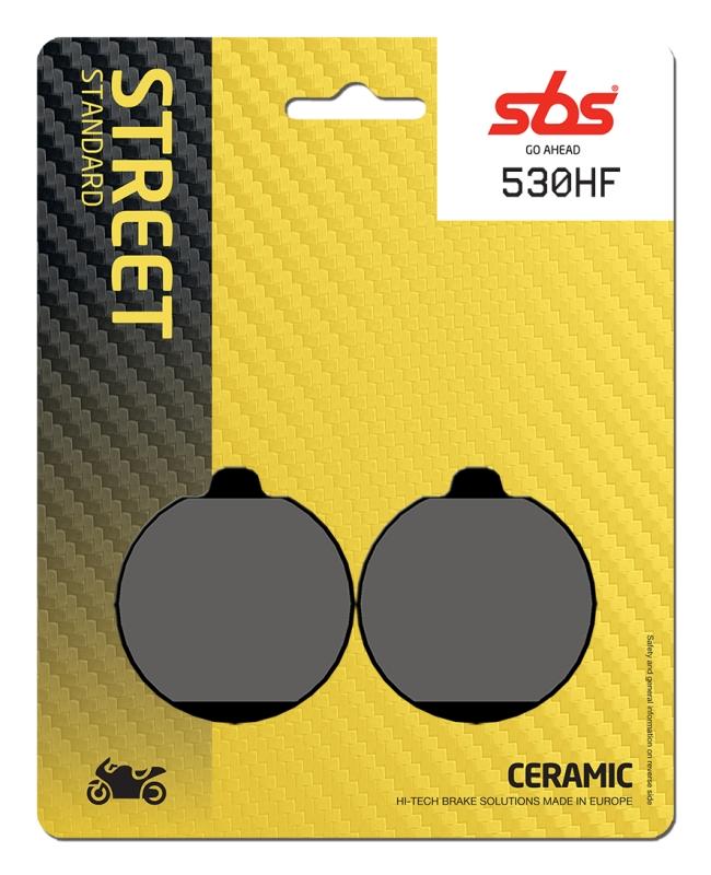 Pastilla de freno SBS P530-HF