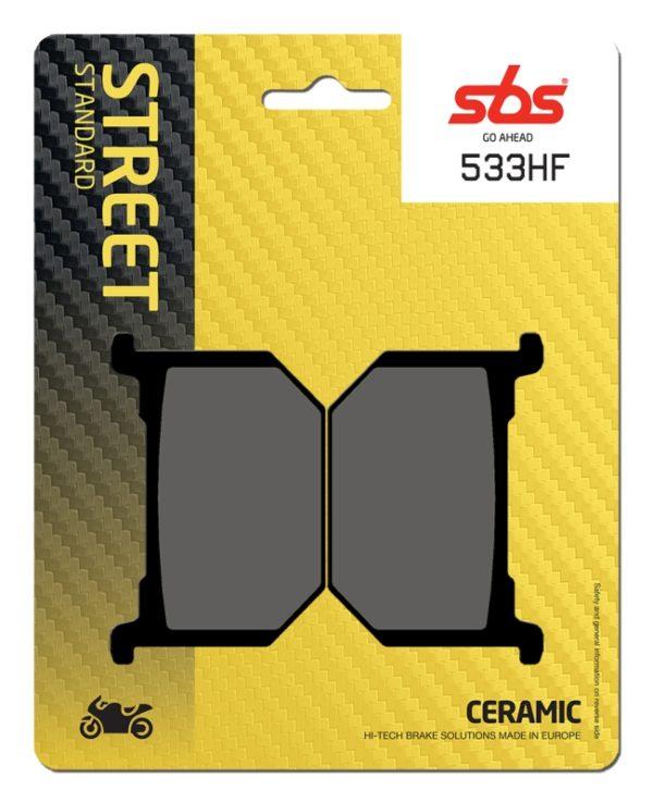 Pastilla de freno SBS P533-HF