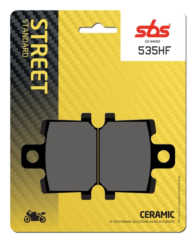 Pastilla de freno SBS P535-HF