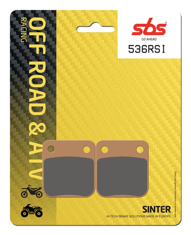 Pastilla de freno SBS P536-RSI