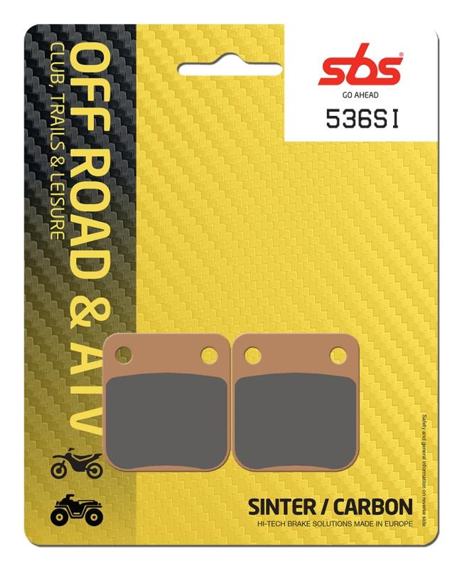 Pastilla de freno SBS P536-SI