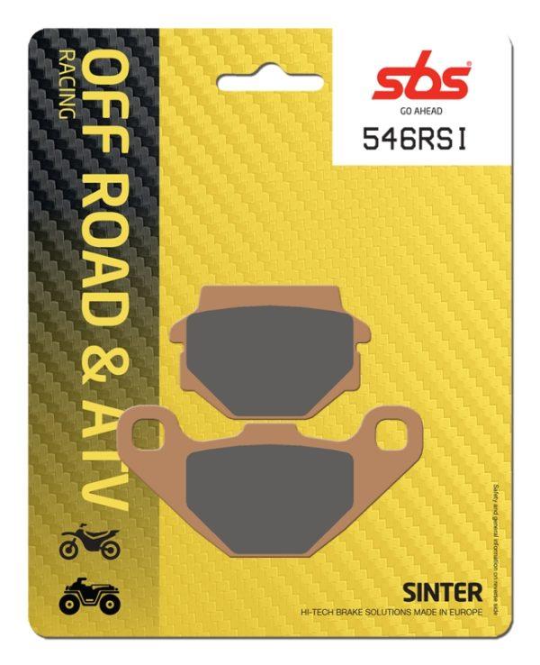 Pastilla de freno SBS P546-RSI