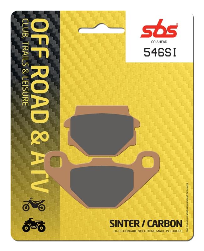 Pastilla de freno SBS P546-SI