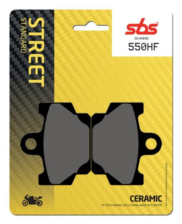 Pastilla de freno SBS P550-HF