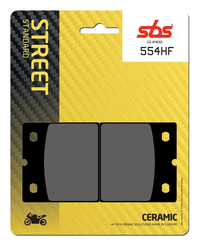 Pastilla de freno SBS P554-HF