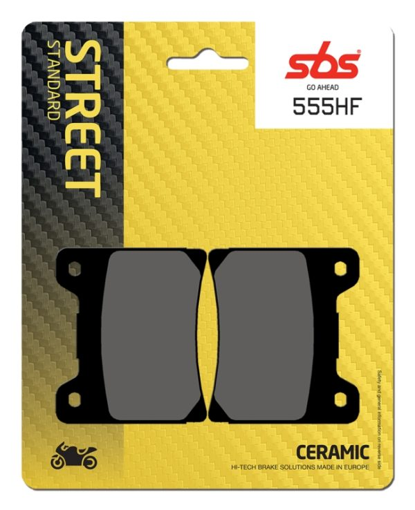 Pastilla de freno SBS P555-HF