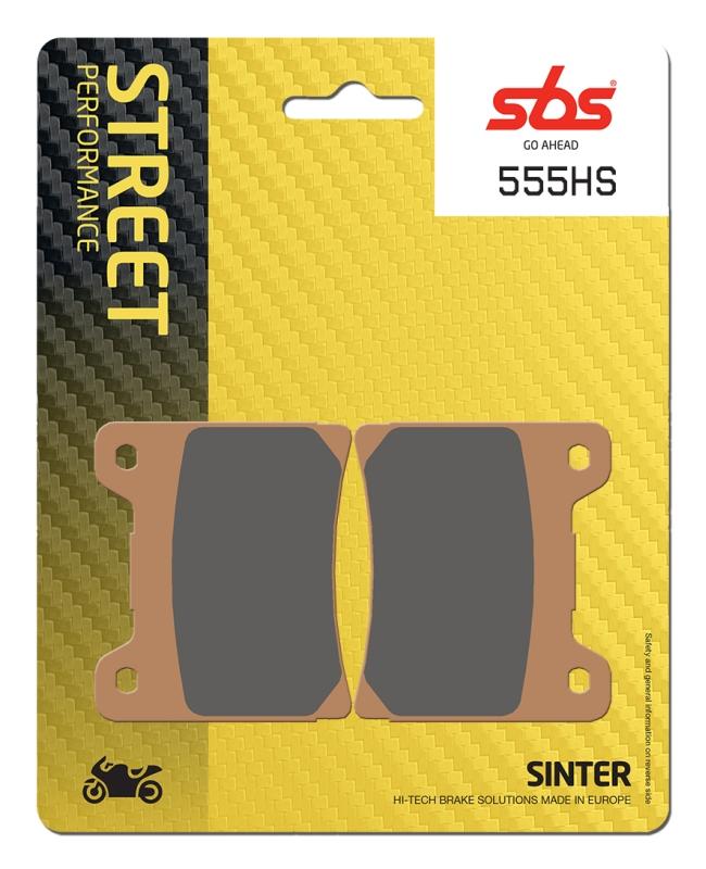 Pastilla de freno SBS P555-HS