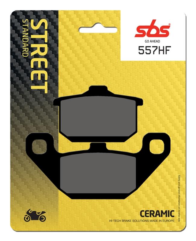 Pastilla de freno SBS P557-HF