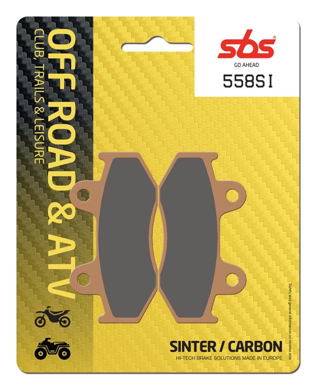 Pastilla de freno SBS P558-SI
