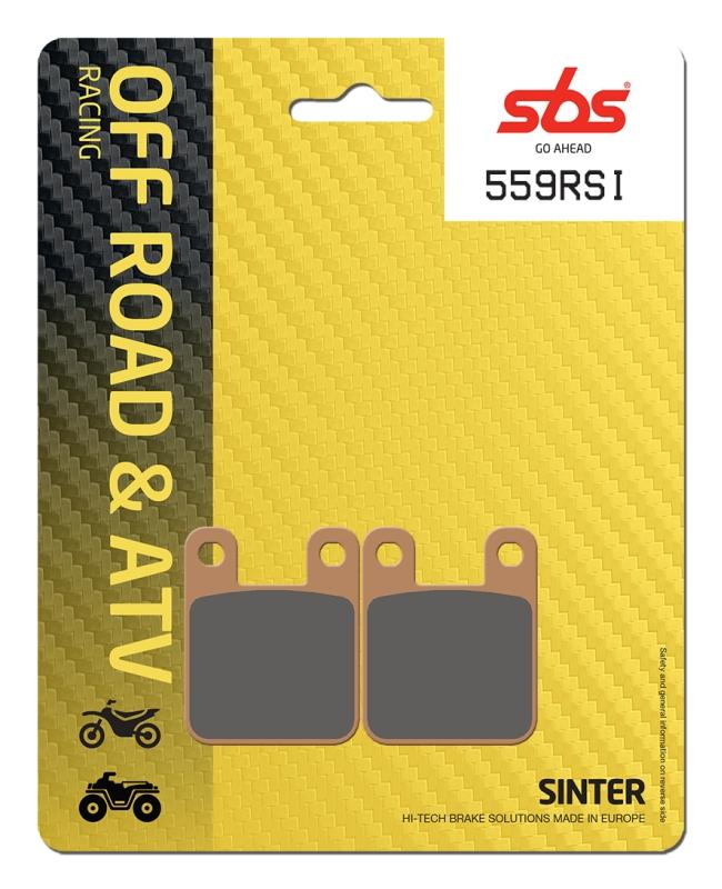 Pastilla de freno SBS P559-RSI