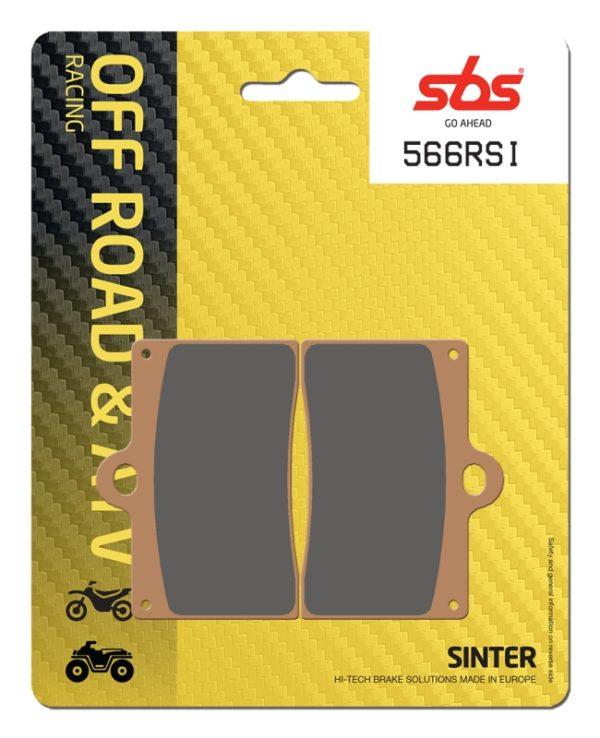 Pastilla de freno SBS P566-RSI