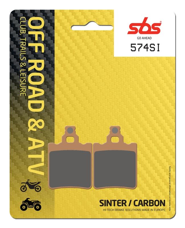 Pastilla de freno SBS P574-SI