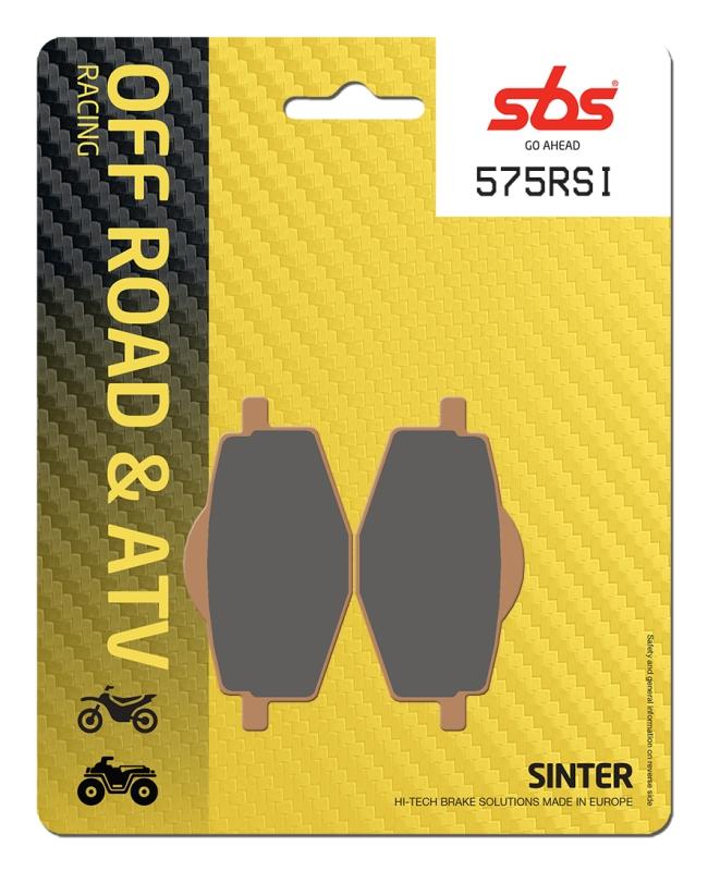 Pastilla de freno SBS P575-RSI