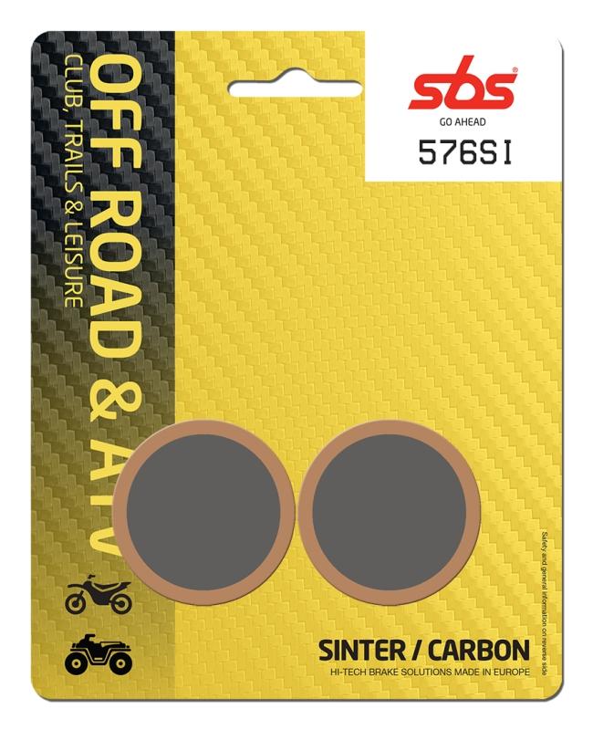 Pastilla de freno SBS P576-SI