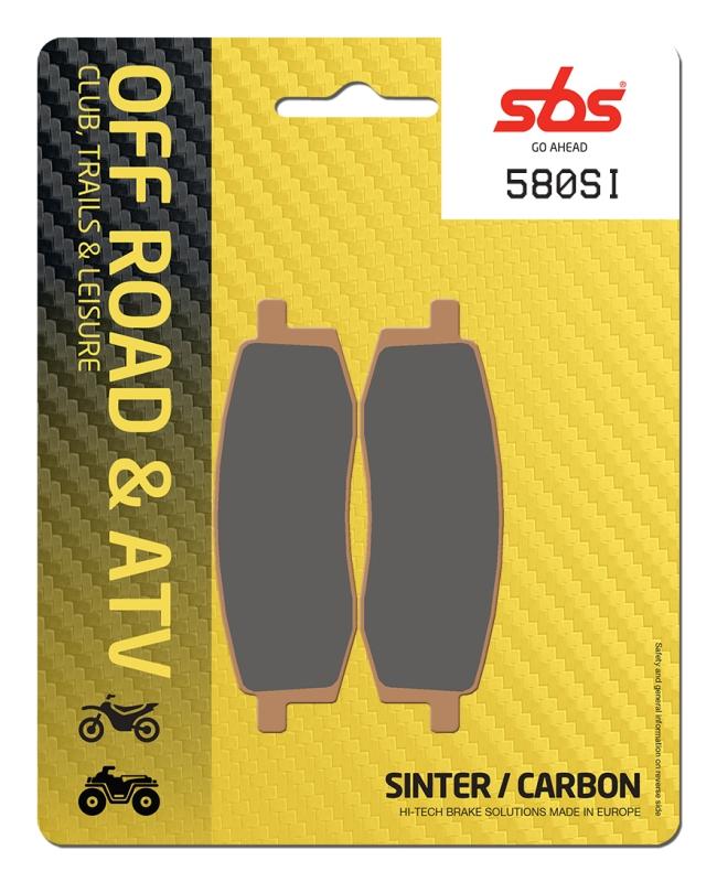 Pastilla de freno SBS P580-SI