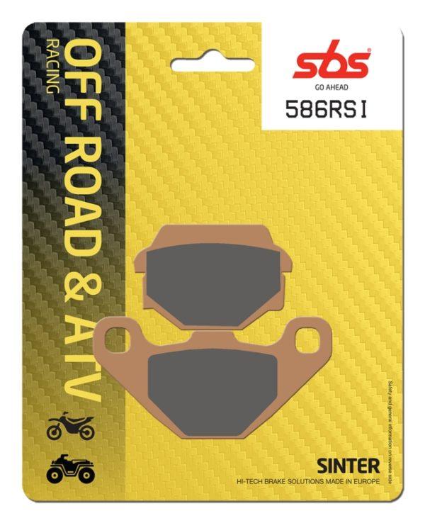 Pastilla de freno SBS P586-RSI