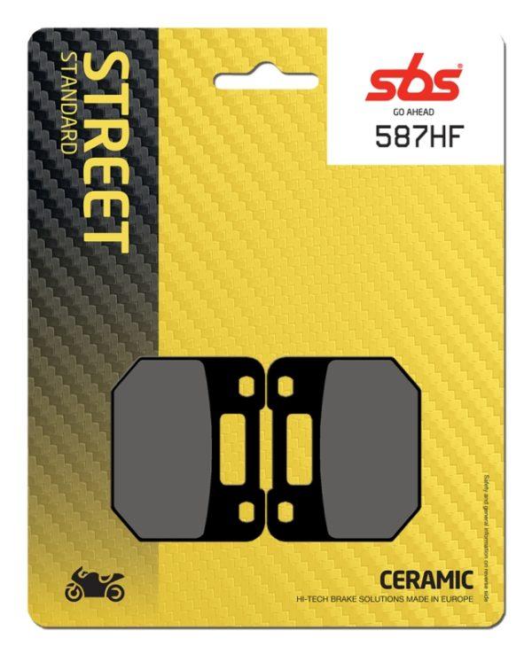 Pastilla de freno SBS P587-HF