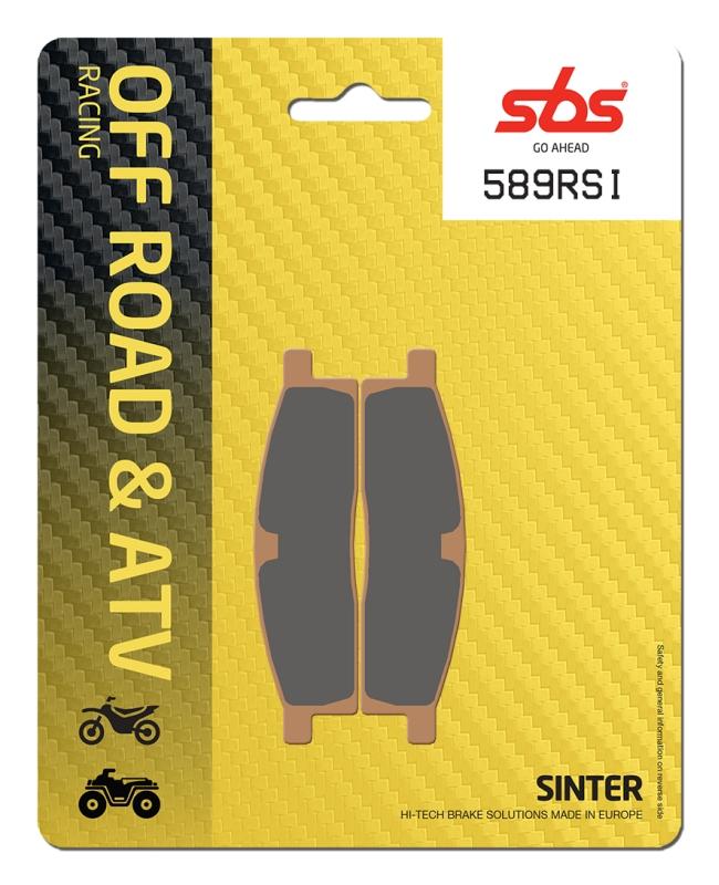 Pastilla de freno SBS P589-RSI