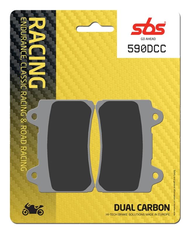 Pastilla de freno SBS P590-DCC