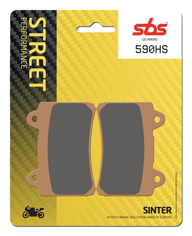 Pastilla de freno SBS P590-HS