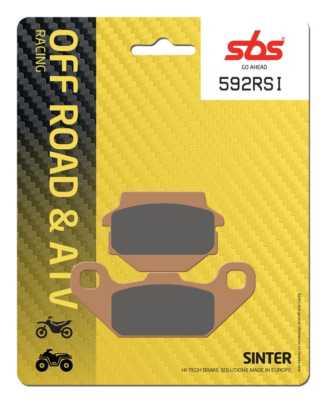 Pastilla de freno SBS P591-RSI