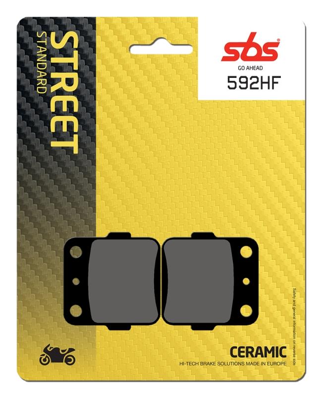 Pastilla de freno SBS P592-HF