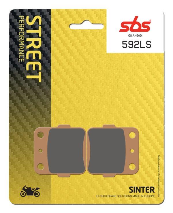 Pastilla de freno SBS P592-LS