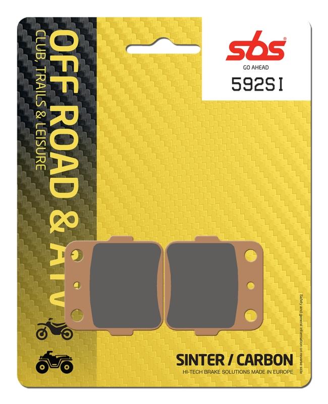 Pastilla de freno SBS P592-SI