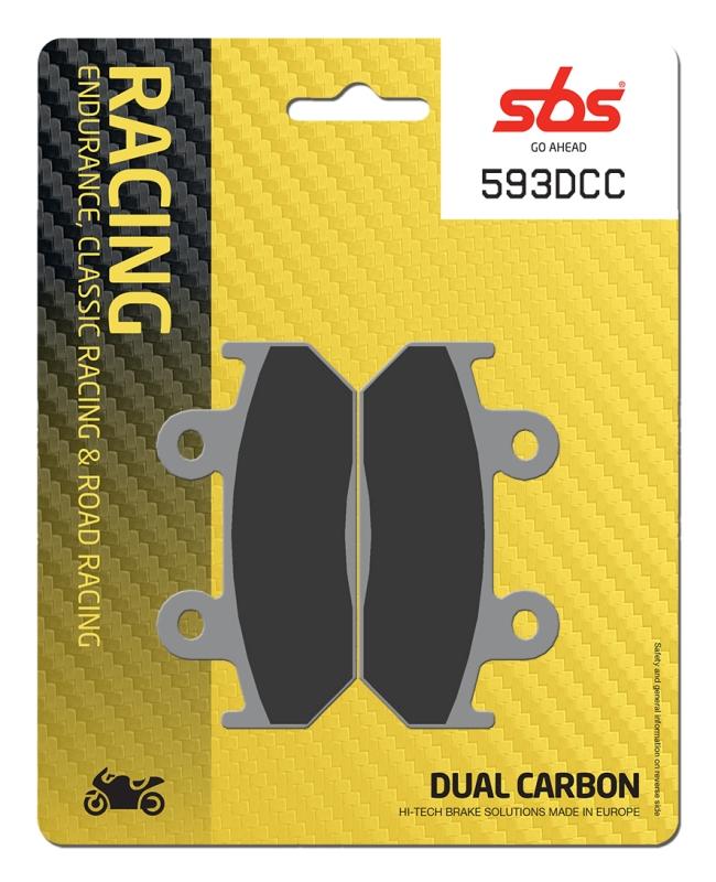 Pastilla de freno SBS P593-DCC