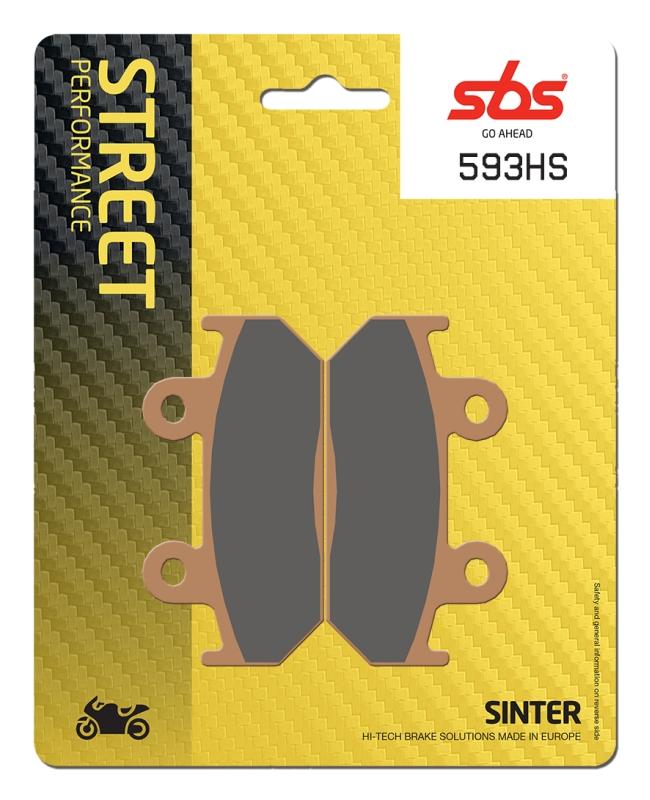 Pastilla de freno SBS P593-HS