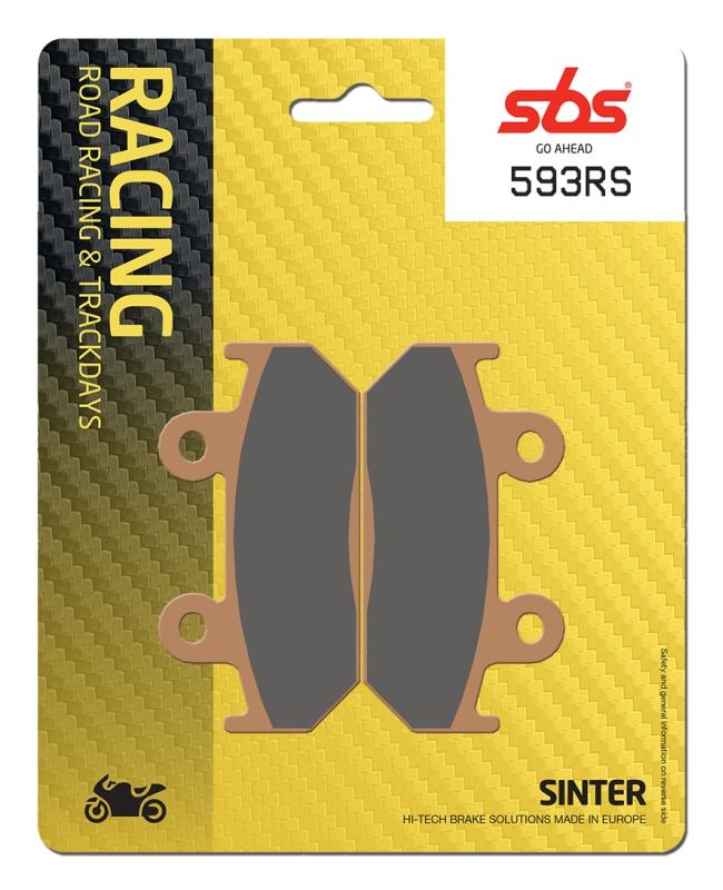 Pastilla de freno SBS P593-RS