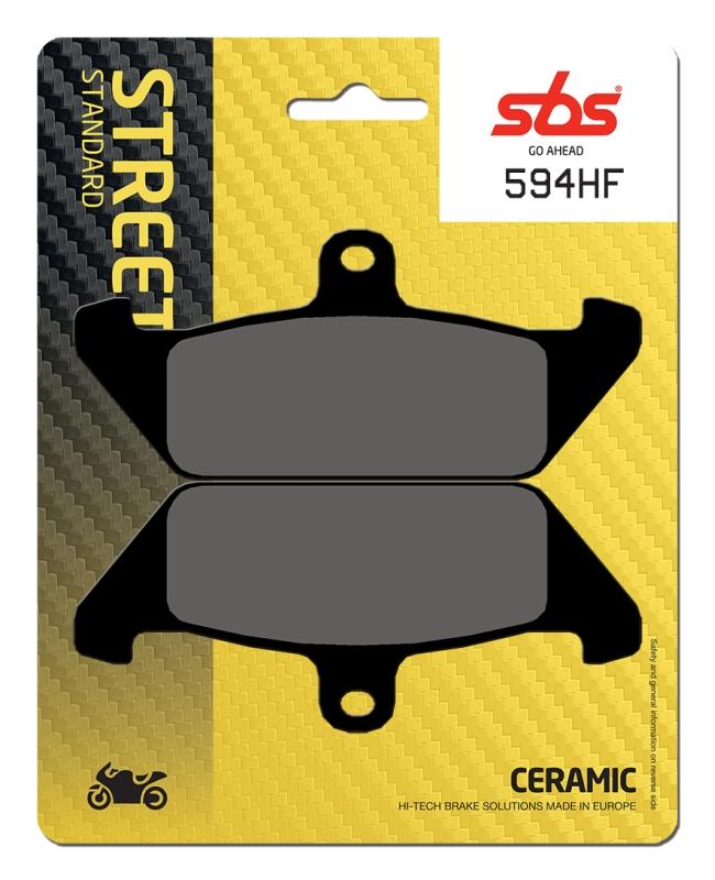 Pastilla de freno SBS P594-HF