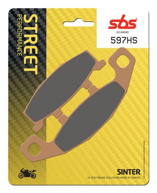 Pastilla de freno SBS P597-HS
