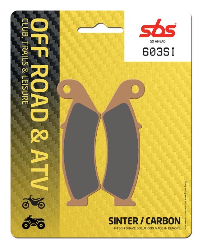 Pastilla de freno SBS P603-SI