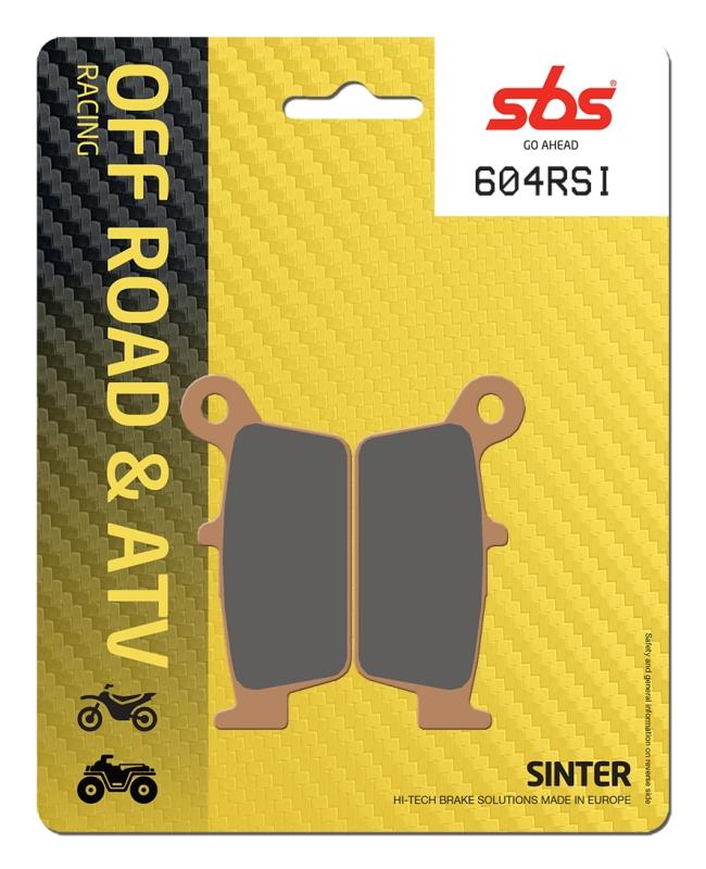 Pastilla de freno SBS P604-RSI