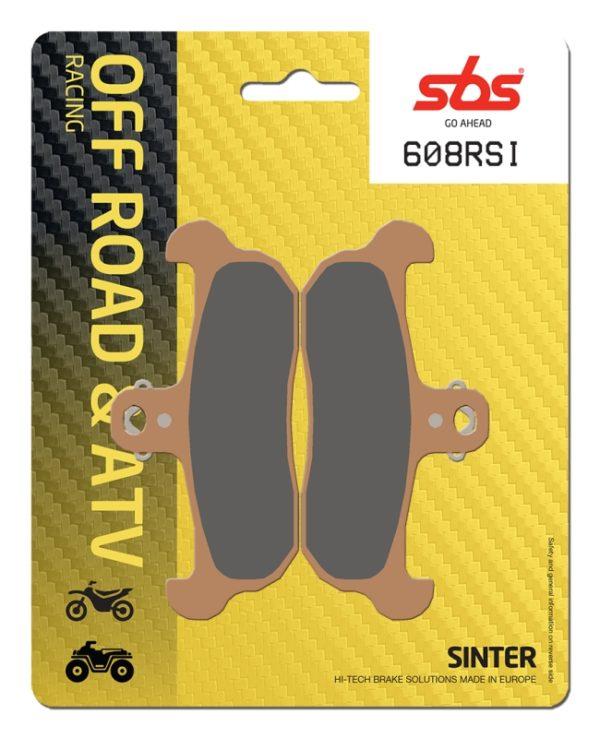 Pastilla de freno SBS P608-RSI
