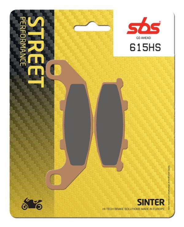 Pastilla de freno SBS P615-HS