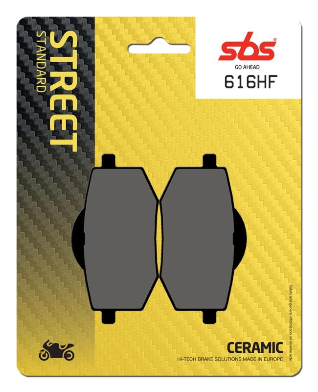 Pastilla de freno SBS P616-HF