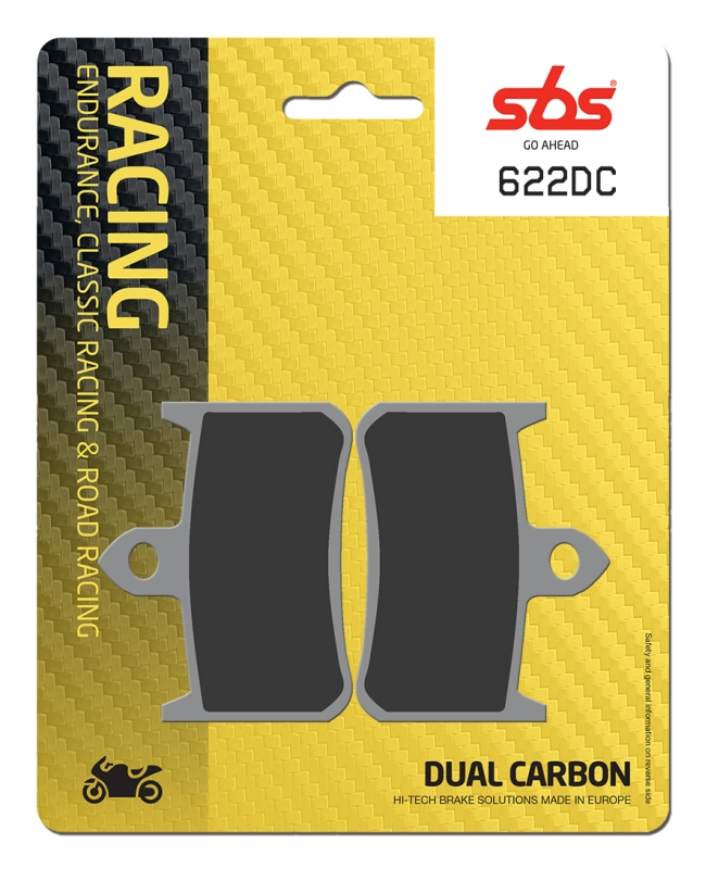 Pastilla de freno SBS P622-DC