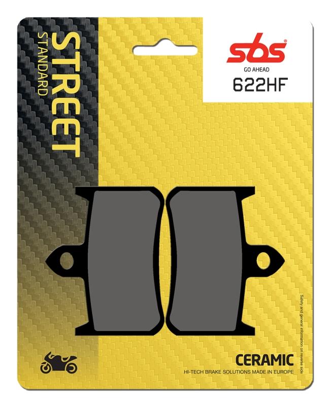 Pastilla de freno SBS P622-HF